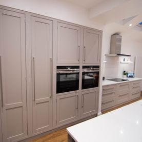 Refurbished Painted Kitchen