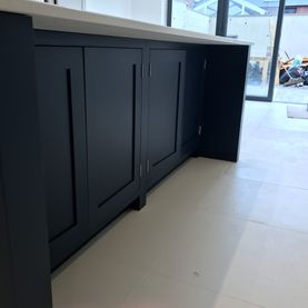 Painted Kitchen Units
