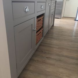 Refurbished Grey Kitchen