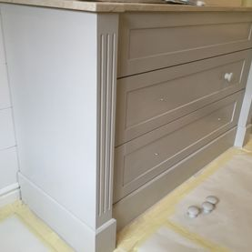 Painted Vanity Unit