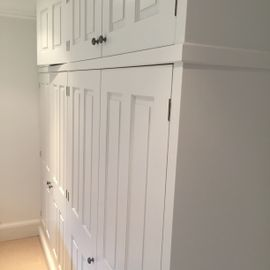 Hand Painted Kitchen Cupboards